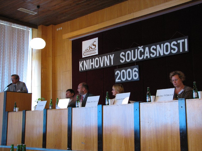 Z úvodní části konference Knihovny současnosti 2006