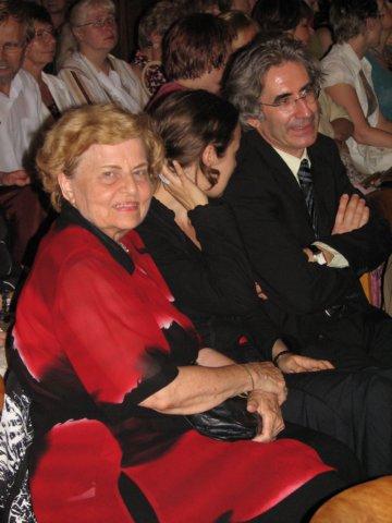 Jarmila Burgetová s Dominiquem Arotem, předsedou Spolku francouzských knihovníků