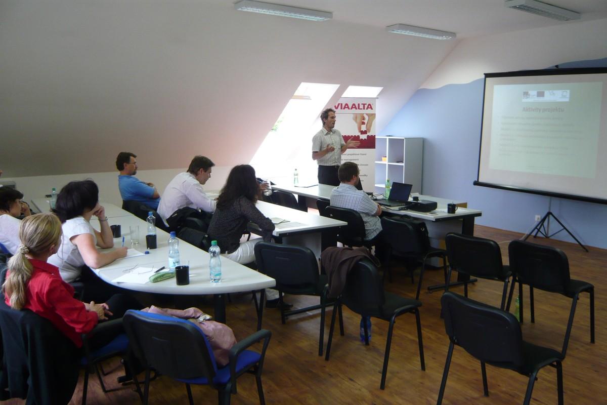 Představení projektu MAFIDIS+ na úvodním  semináři v Třebíči