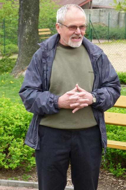 PhDr. František Dudek, CSc., odborník na historii Kolovrat a náš průvodce