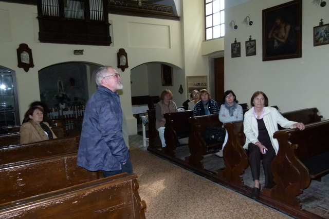 Výklad v kostele sv. Ondřeje