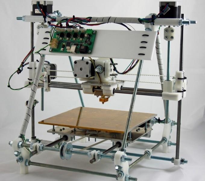 Opensource a Openhardware 3D tiskárna RepRap