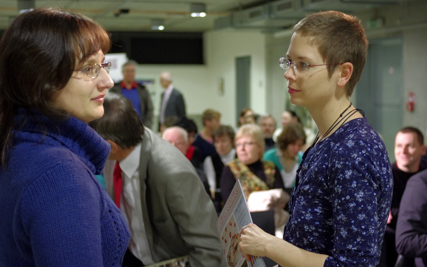 Petra Čechová a Blanka Vorlíčková