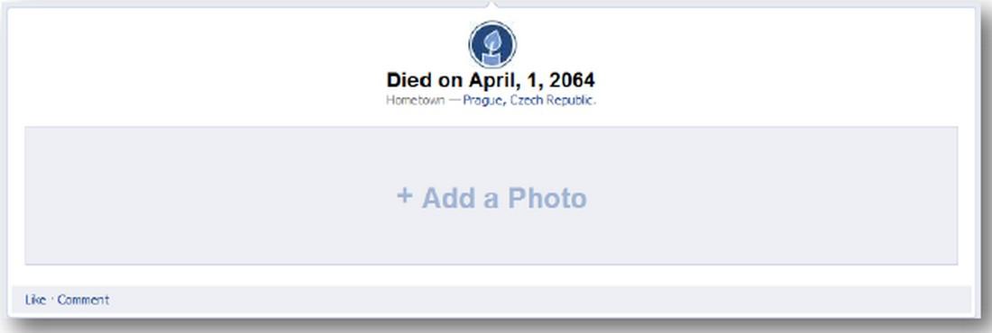 Časová osa na Facebooku
