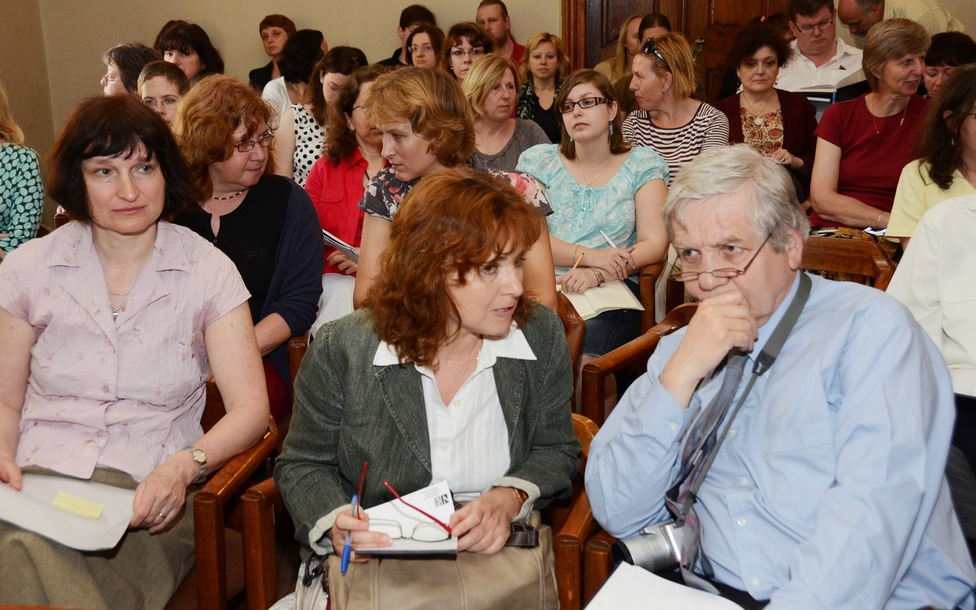 Návštěvníci semináře